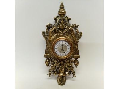 Sieninis laikrodis žalvarinis