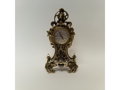Stalo laikrodis žalvarinis