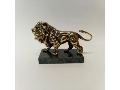 Statulėlė liūtas žalvarinis