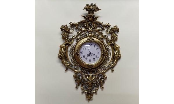 Prabangus žalvarinis laikrodis