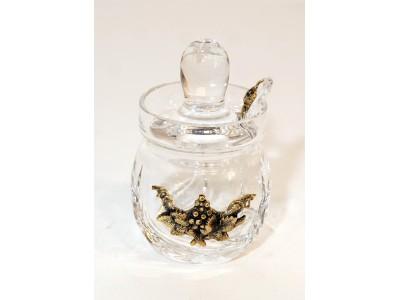 Medaus indelis dekoruotas žalvariu