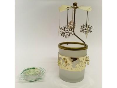 Žvakidė - kalėdinė dekoracija