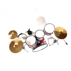 Perkusijos mini modelis  (būgnai)