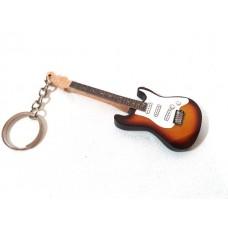 Raktų pakabukas mini gitara - Jimi Hendrix