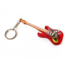 Raktų pakabukas mini gitara - Iron Maiden - Eddie