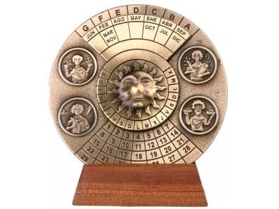 """Amžinas kalendorius - """"Letra Dominical"""""""