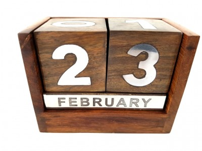 Medinis surenkamasis stalo kalendorius