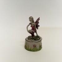 Alavinė dėžutė žiedams - Elfė