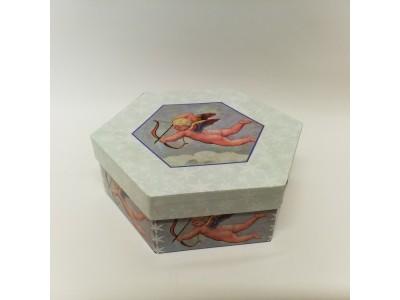 Kalėdinė dovanų dėžutė