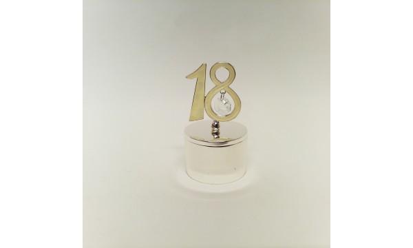 Papuošalų dėžutė 18 gimtadienio proga