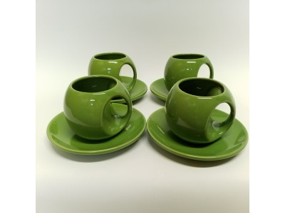 Puodelių rinkinys arbatai - 4 asmenims
