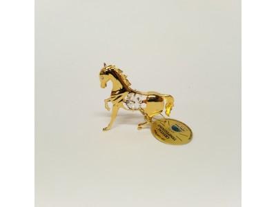 Arkliukas - statulėlė su Swarovski kristalais