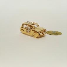 Automobilis - statulėlė su Swarovski kristalais