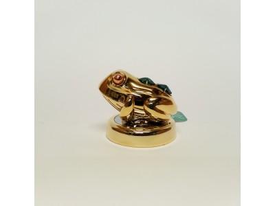 Varlė - statulėlė su Swarovski kristalais