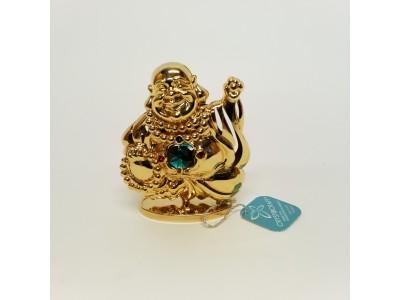Buda - statulėlė su Swarovski kristalais