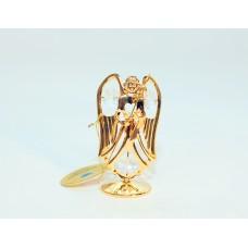 Angelas - statulėlė su Swarovski kristalais