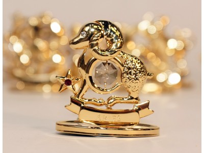 Avinas - zodiako ženklas su Swarovski kristalu