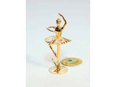 Balerina - statulėlė su Swarovski kristalais