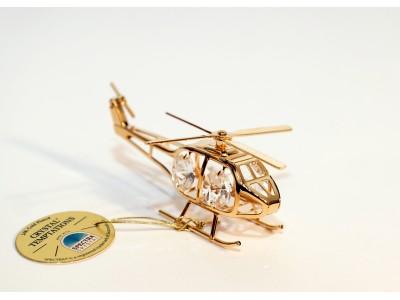 Malūnsparnis - statulėlė su Swarovski kristalais