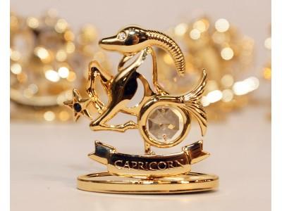 Ožiaragis - zodiako ženklas su Swarovski kristalu
