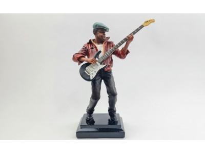 Muzikanto statulėlė - gitaristas