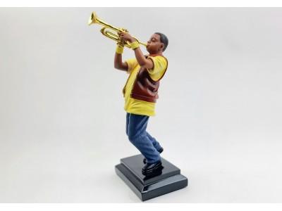Muzikanto statulėlė - trimitininkas