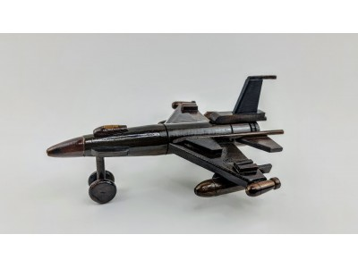 Medinis karinio lėktuvo modelis