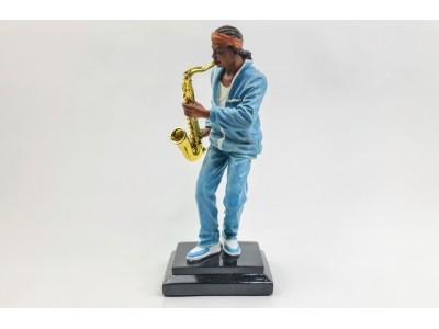 Muzikanto statulėlė - saksofonininkas