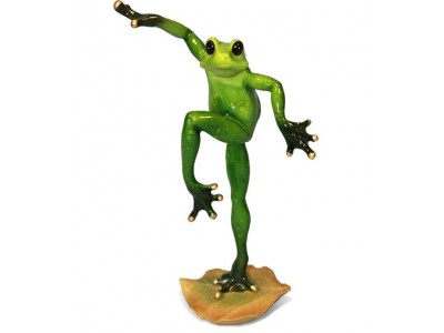 Statulėlė - varlė šokėjas