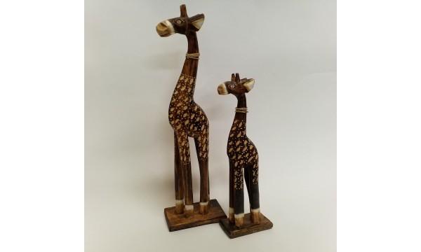 Medinės žirafos 2 vnt.