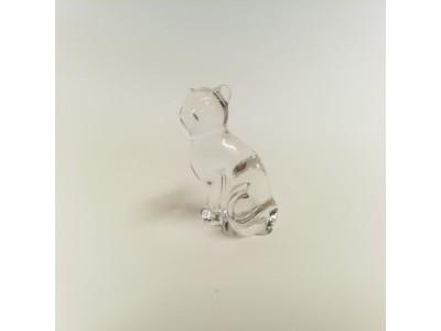 Statulėlė - stiklinė katė