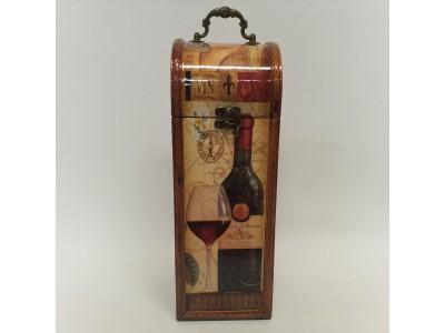 Dėžutė vyno buteliui