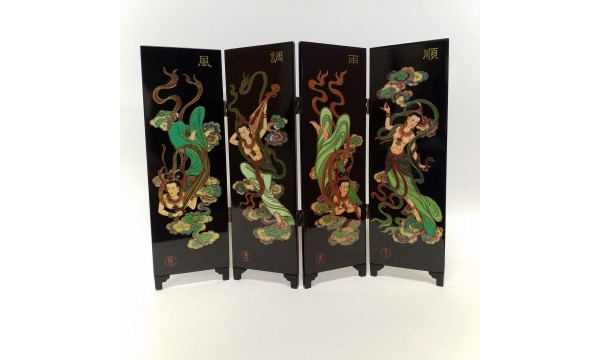 Dekoratyvinė kinų širma