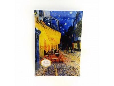 Dekoratyvė lėkštė iš stiklo - Van Gogh