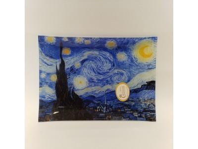 Dekoratyvinė lėkštė iš stiklo - Van Gogh