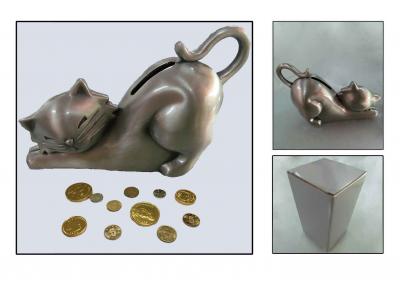 Taupyklė - metalinė katė