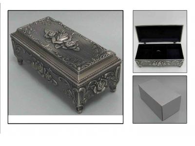 Klasikinė papuošalų dėžutė