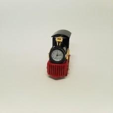 Garvežys su laikrodžiu
