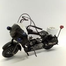 Amerikietiško policijos motociklo modelis