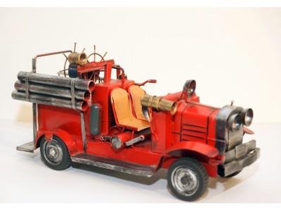 Retro gaisrinės modelis