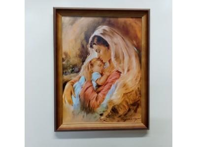 """Paveikslas """"Marija su kūdikiu"""""""
