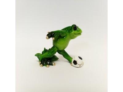 Statulėlė - varlė futbolininkas