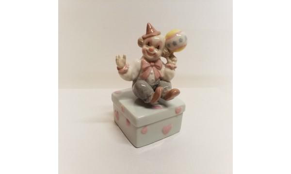 Statulėlė - klounas muzikinis